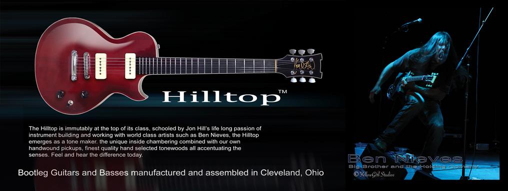 Jon Hill - Bootleg Guitars Product Info 2016