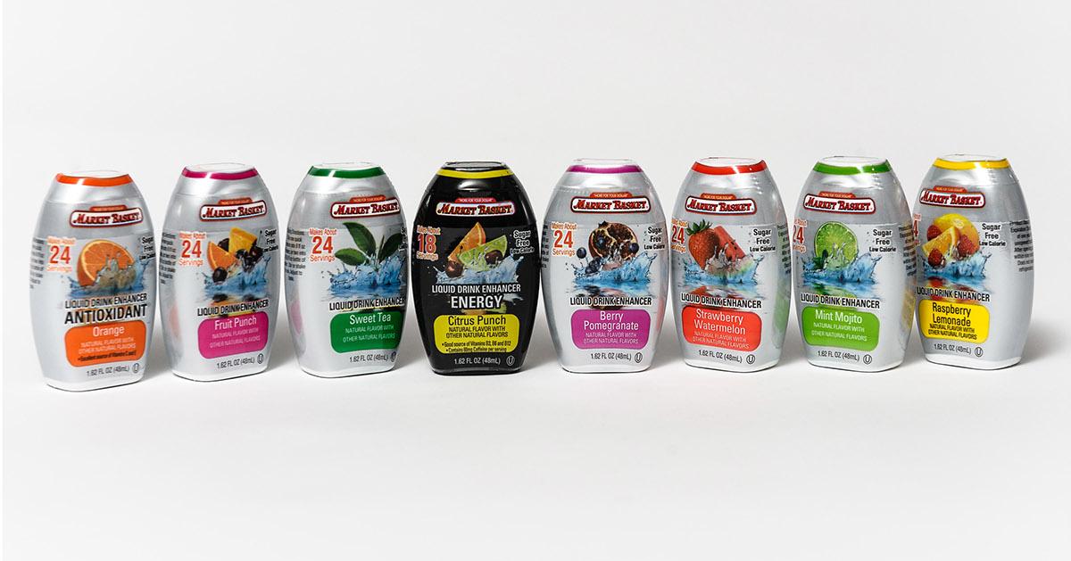 package design  label design Supermarket package wright Wright Design graphic market basket print Label Food  juice Private label Massachusetts New England