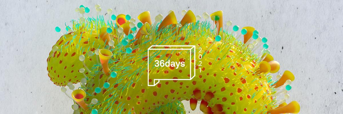 36daysoftype 3D animation  cinema4d motion octane