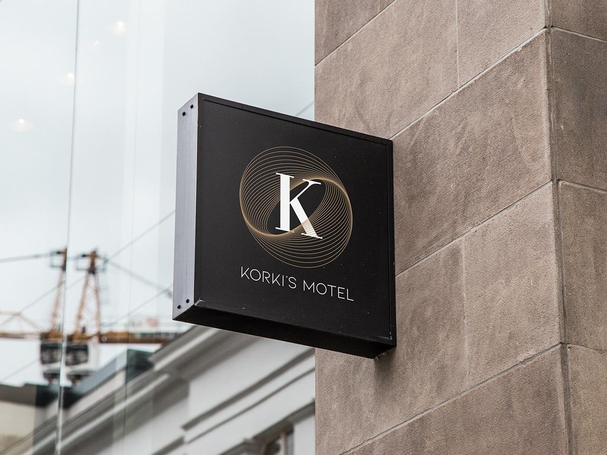 branding  efe kağan yağcı flat graphic design  hotel identity logo modern motel nova artz