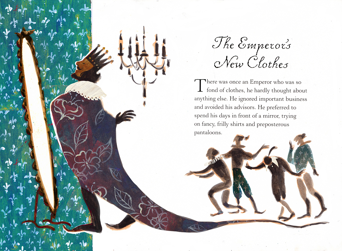 The Emperors New Clothes On Behance Emperor