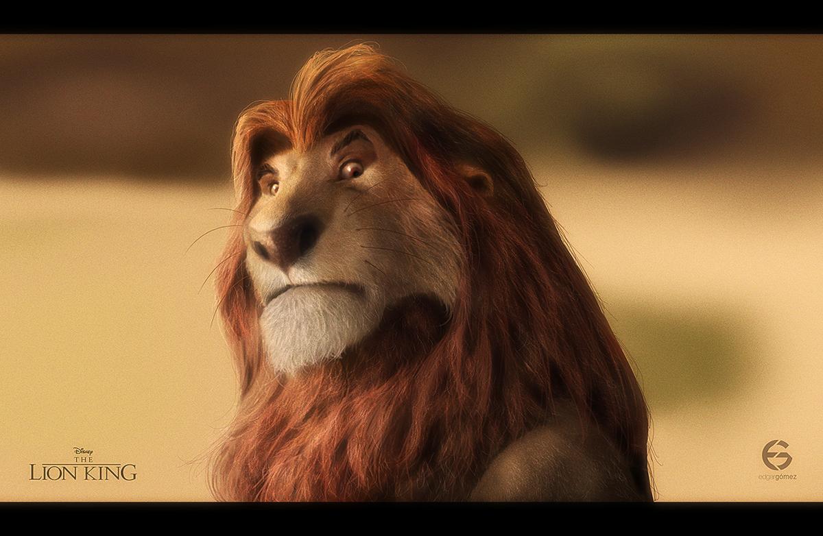 Mufasa The Lion King Fan Art On Behance