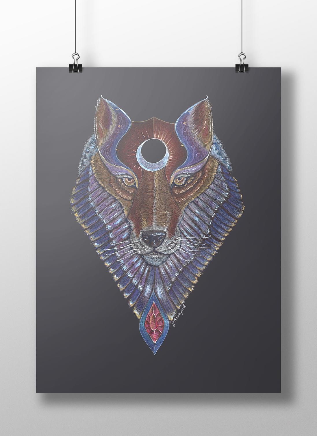 Photo of Wolf Totem by Jennifer Hawkyard