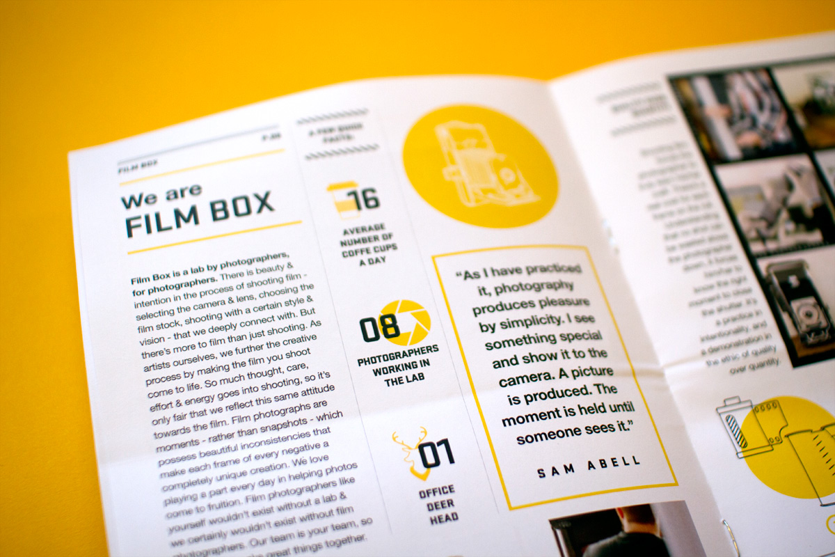 Film Box Promotional Experience Kit on Behance