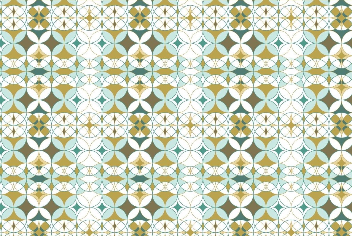 Renaissance pattern Colourful