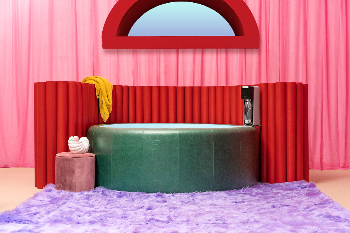 Advertising  colour Fur Interior klarna live