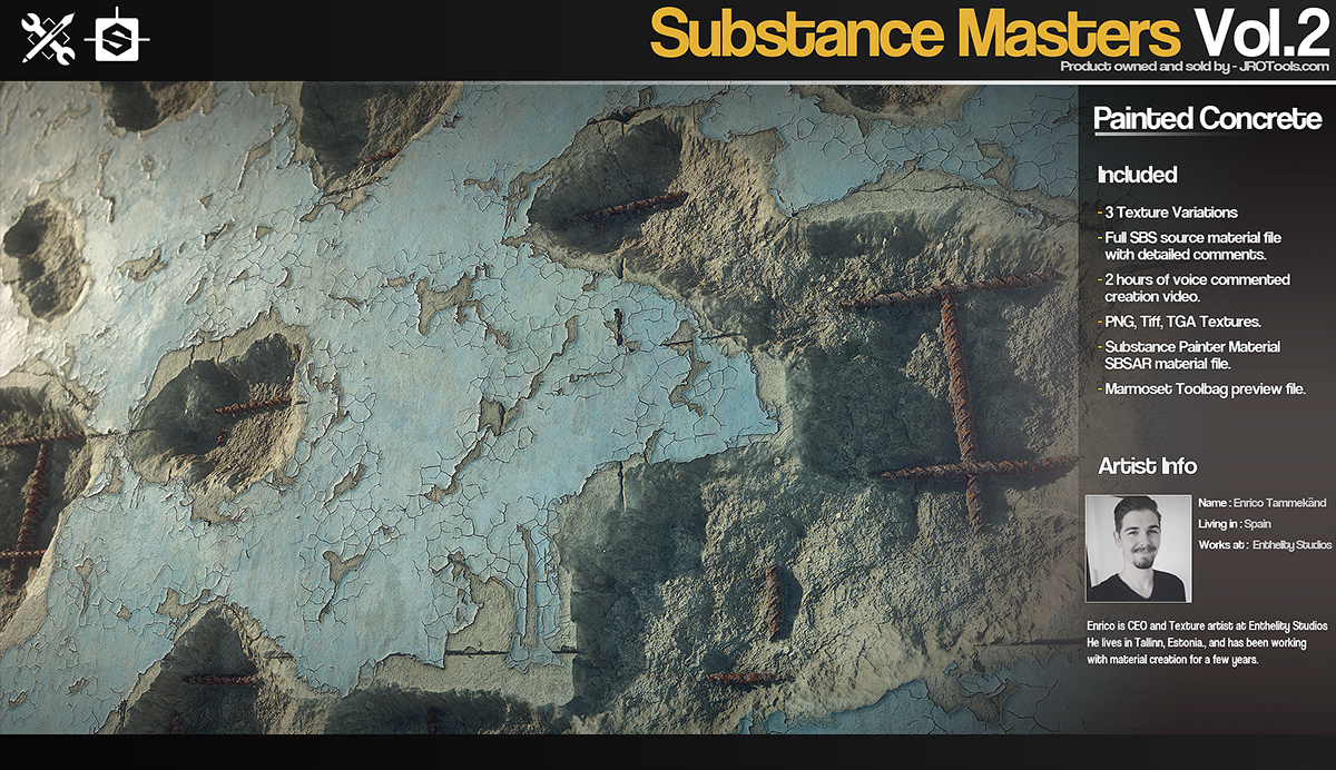 Substance Masters Vol 2 on Wacom Gallery