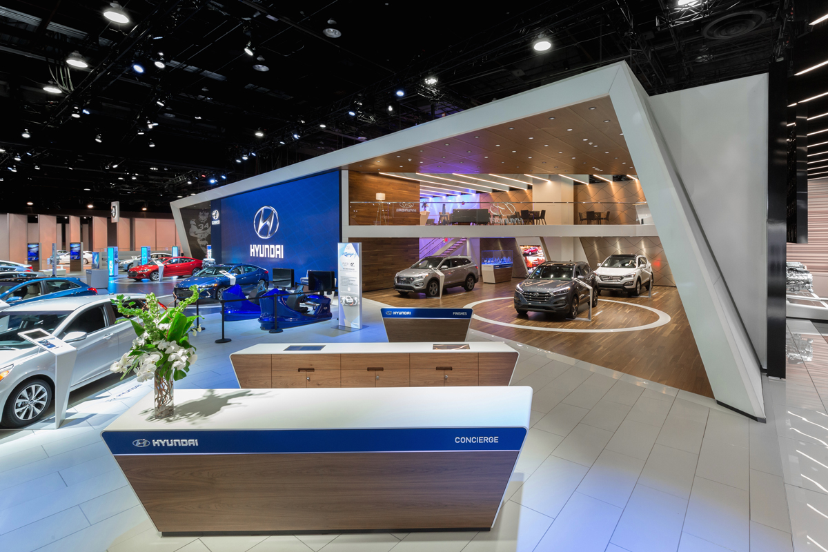 Hyundai at 2016 north american international auto show on for International decor 2017
