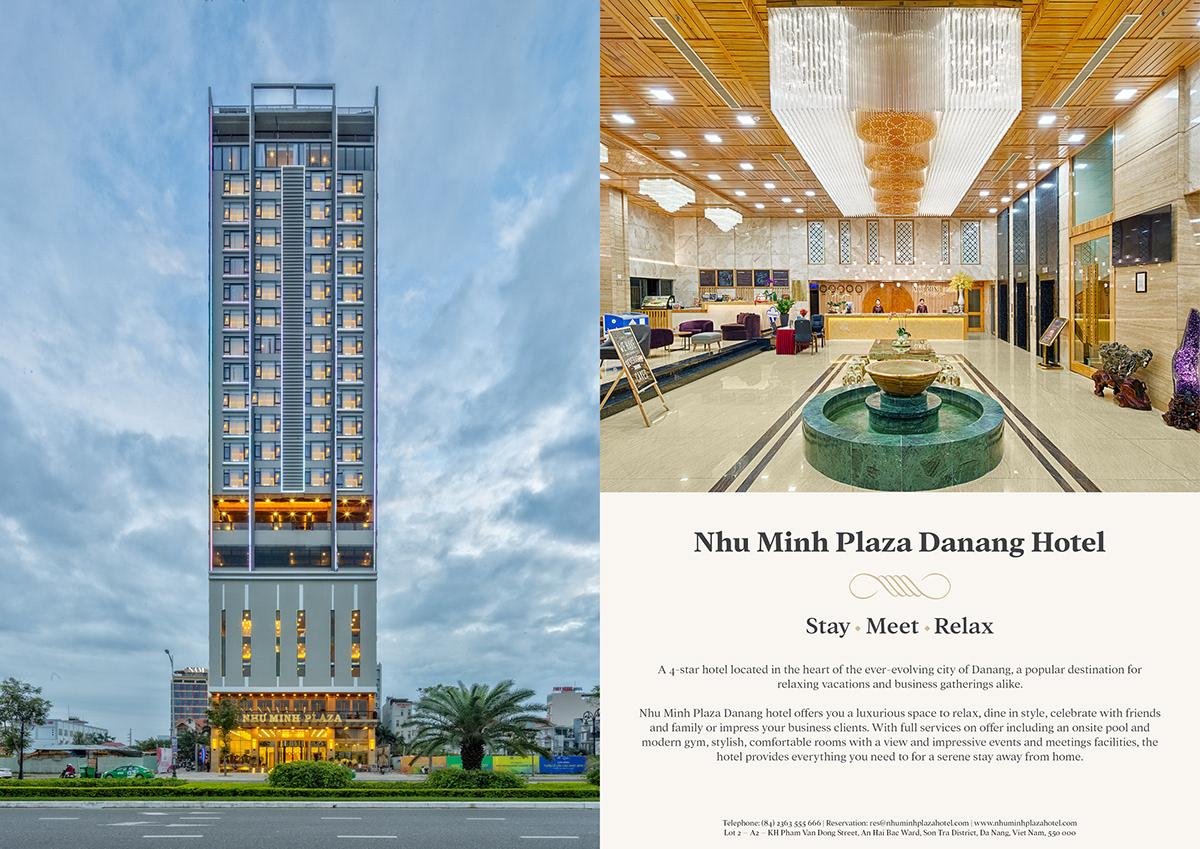 brochure Danang hotel Nhu Minh Plaza profile
