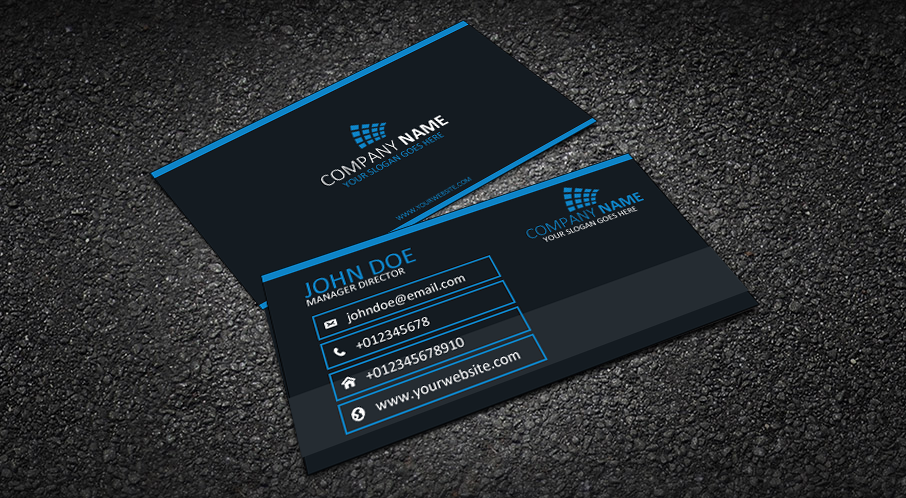 Jzdesign graphic designer portfolio business cards different business card designs reheart Choice Image