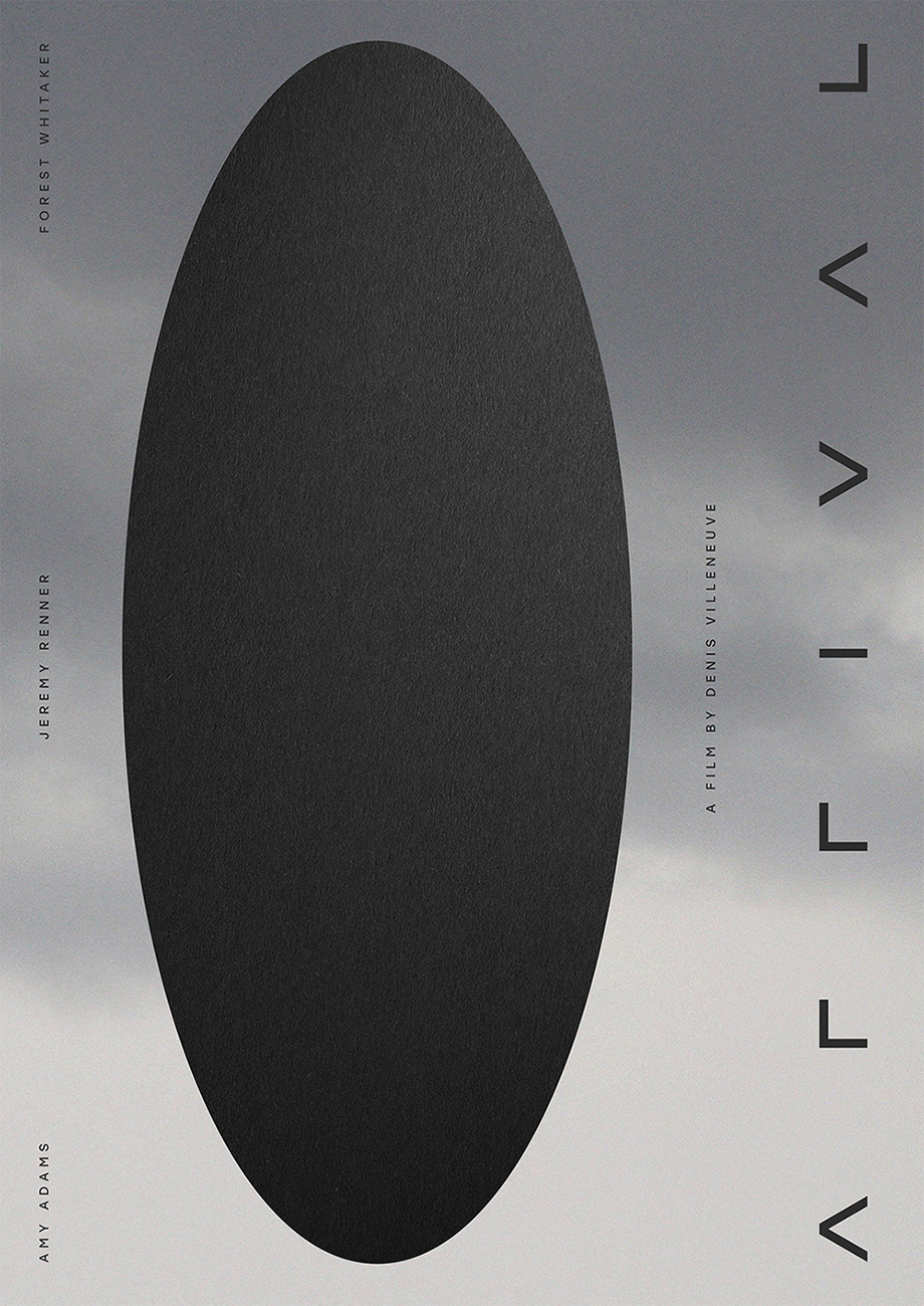 Poster for Arrival movie