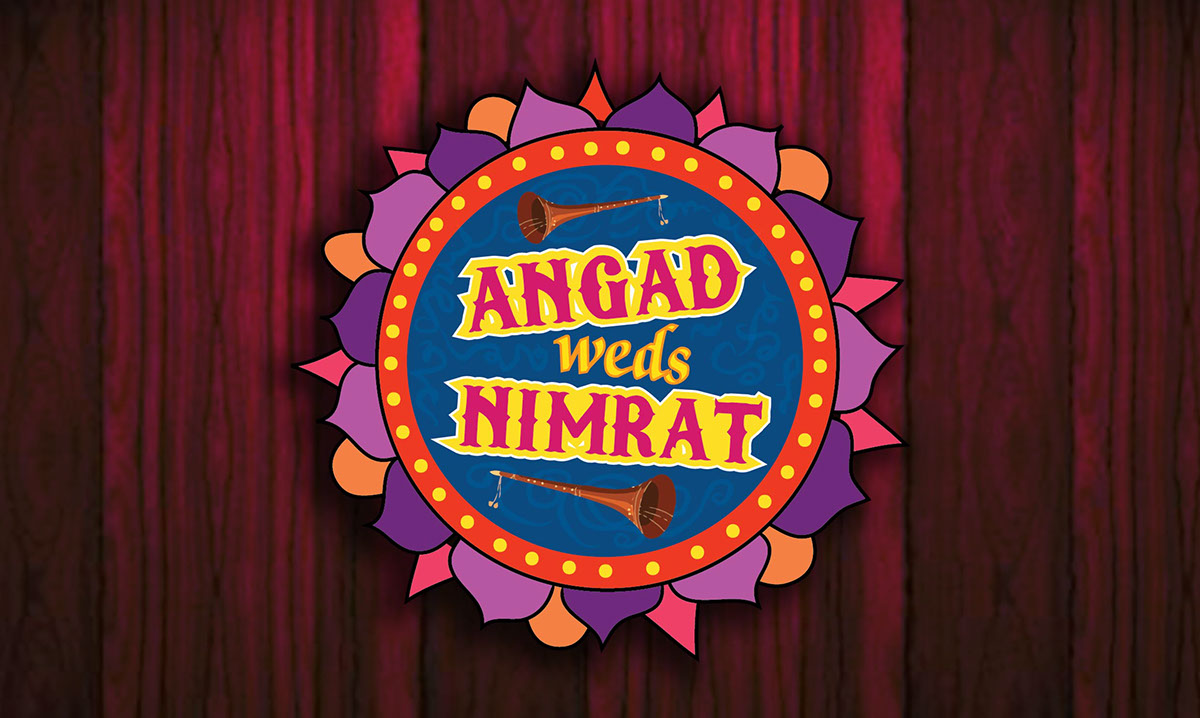 Angad weds Nimrat - wedding invitation card on Behance