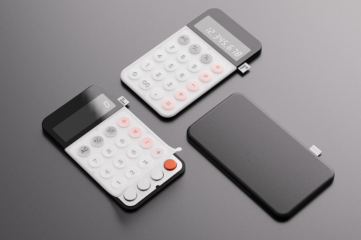 calculator design design design process designstudio industrial design  product design  Product Design portfolio