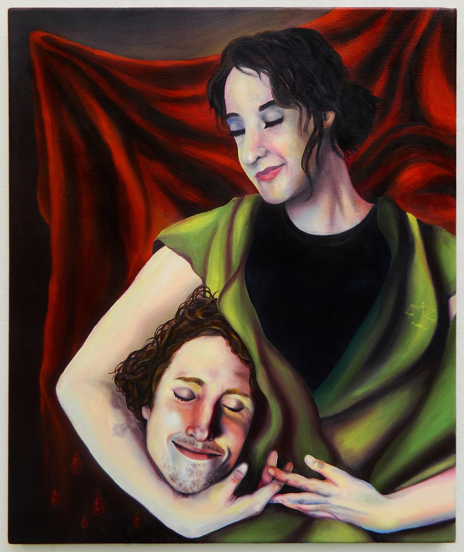 Love identity Gender genderroles Relationships selflove relationship lifedrawing figuredrawing figurepainting portrait selfportrait skeleton judith manipulation