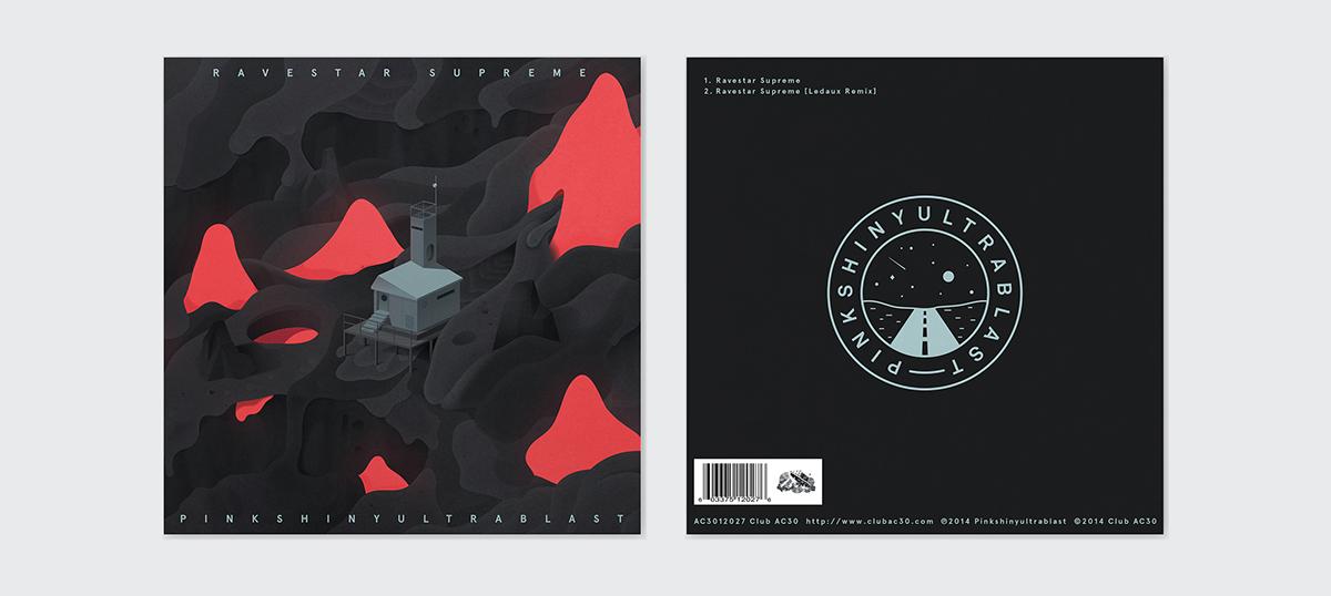 facultative.works pinkshinyultrablast FW PSUB vinyl Vinyl Cover