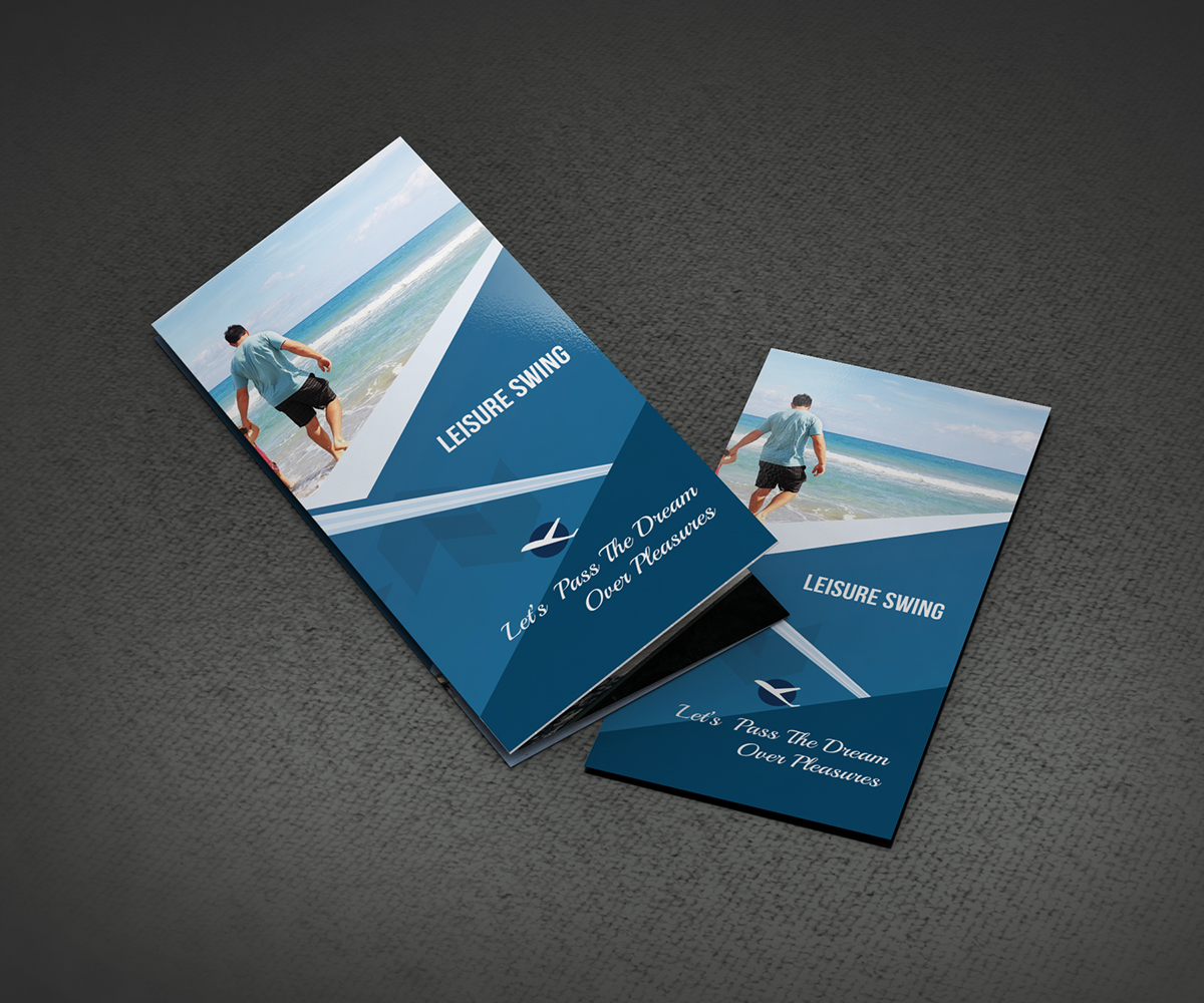 Printable Travel Brochure Template For Kids: Free Travelling Trifold Brochure Template On Behance