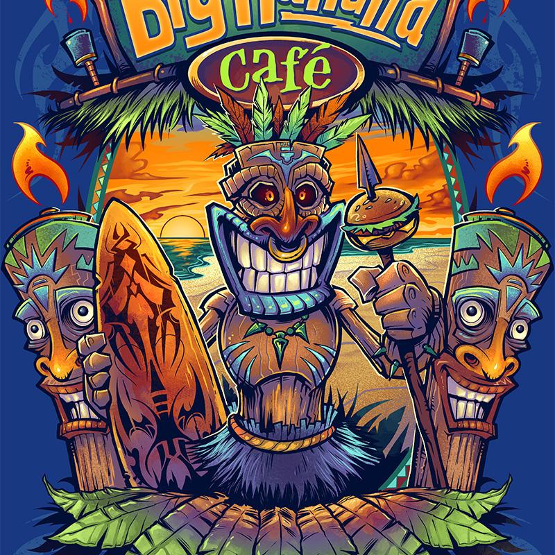 Big Kahuna T-shirt on Behance