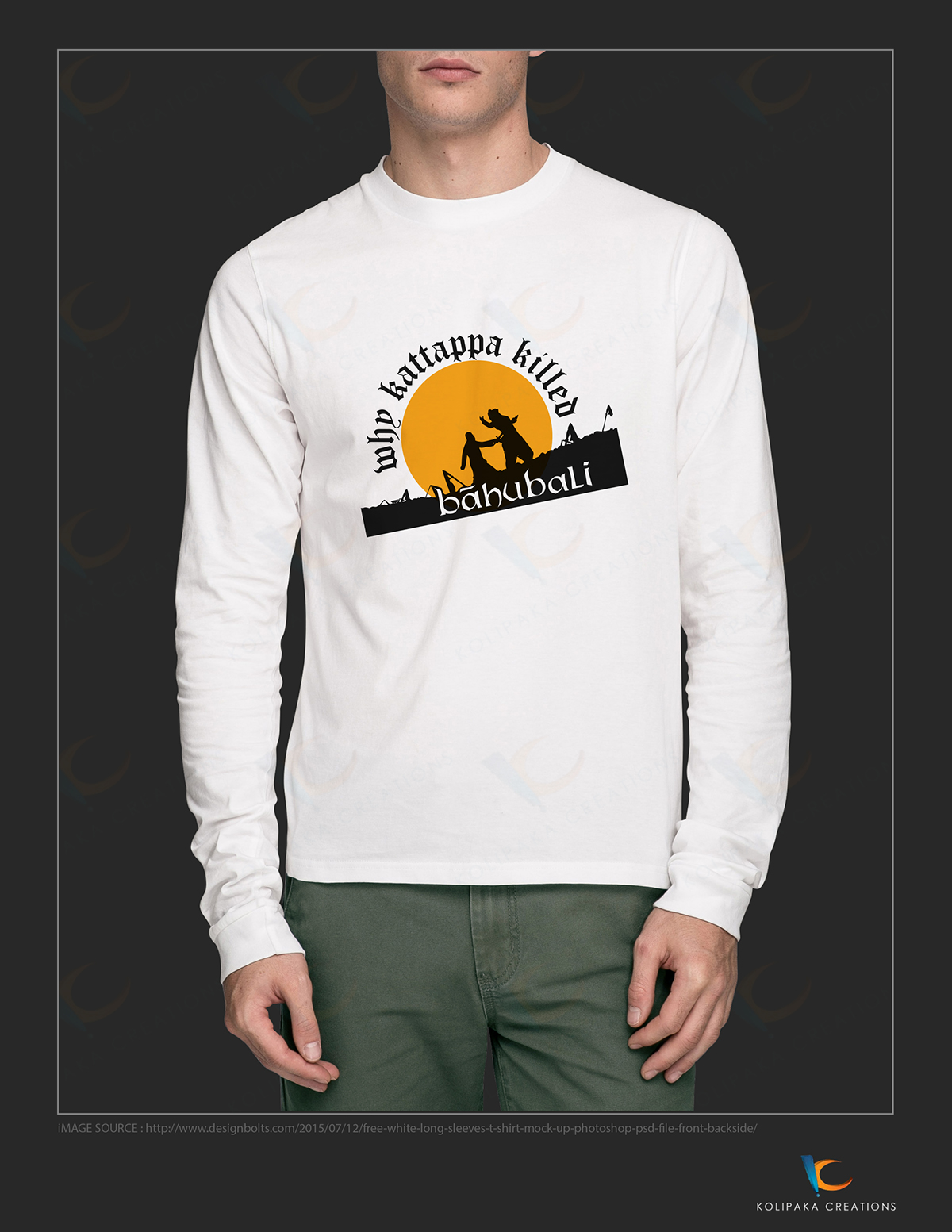 Bahubali T Shirt Printing Logo On Behance