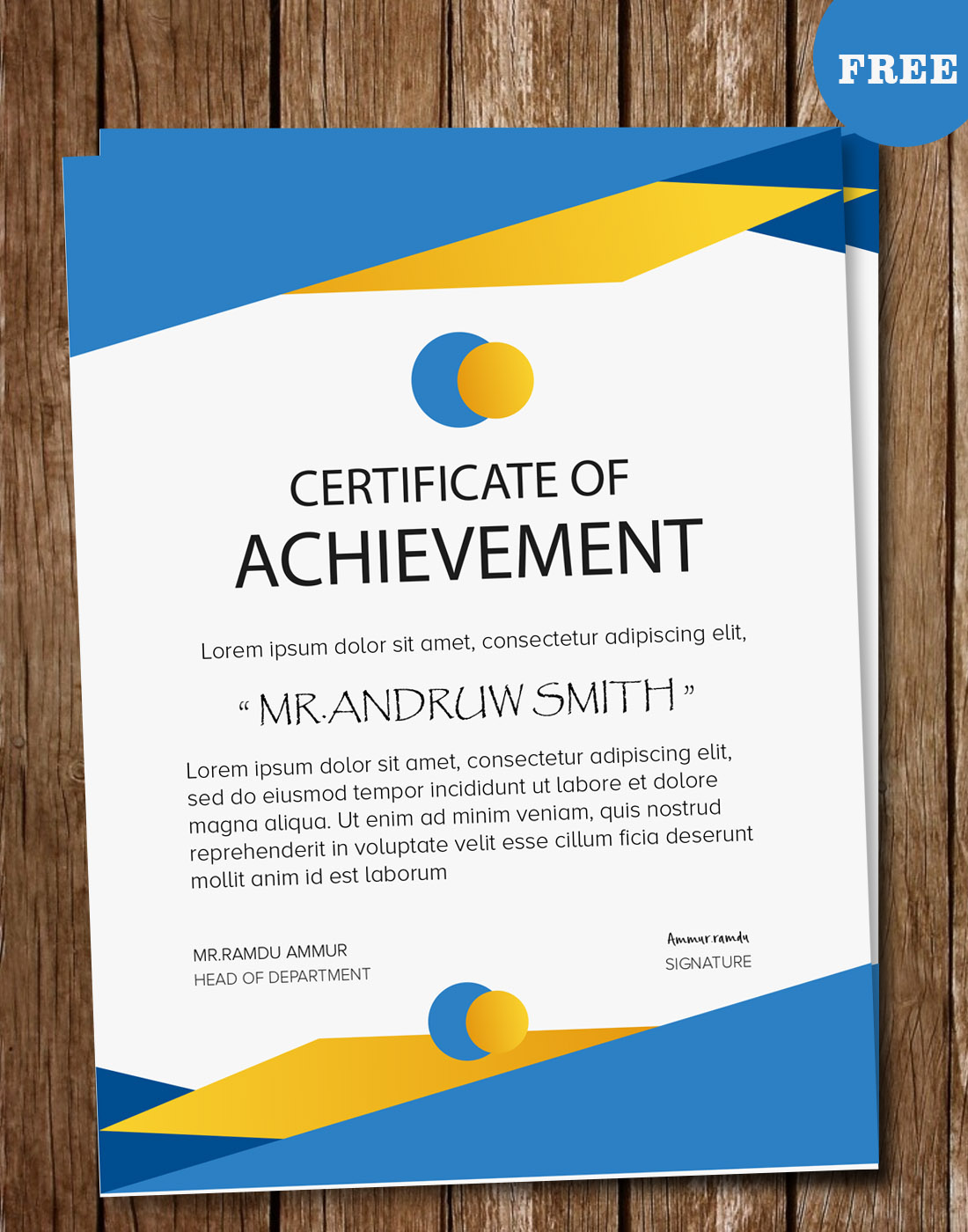 Certificate Psd Templates On Behance