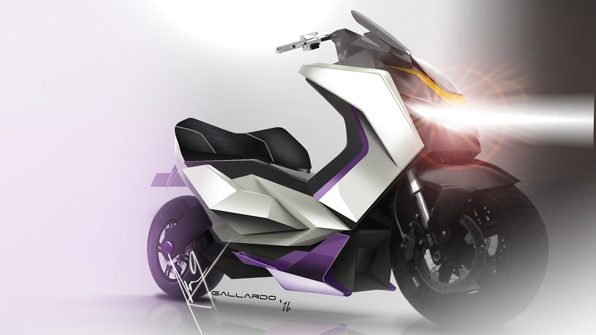 Scooter MotorcycleDesign motorcycle Bike Electric Scooter