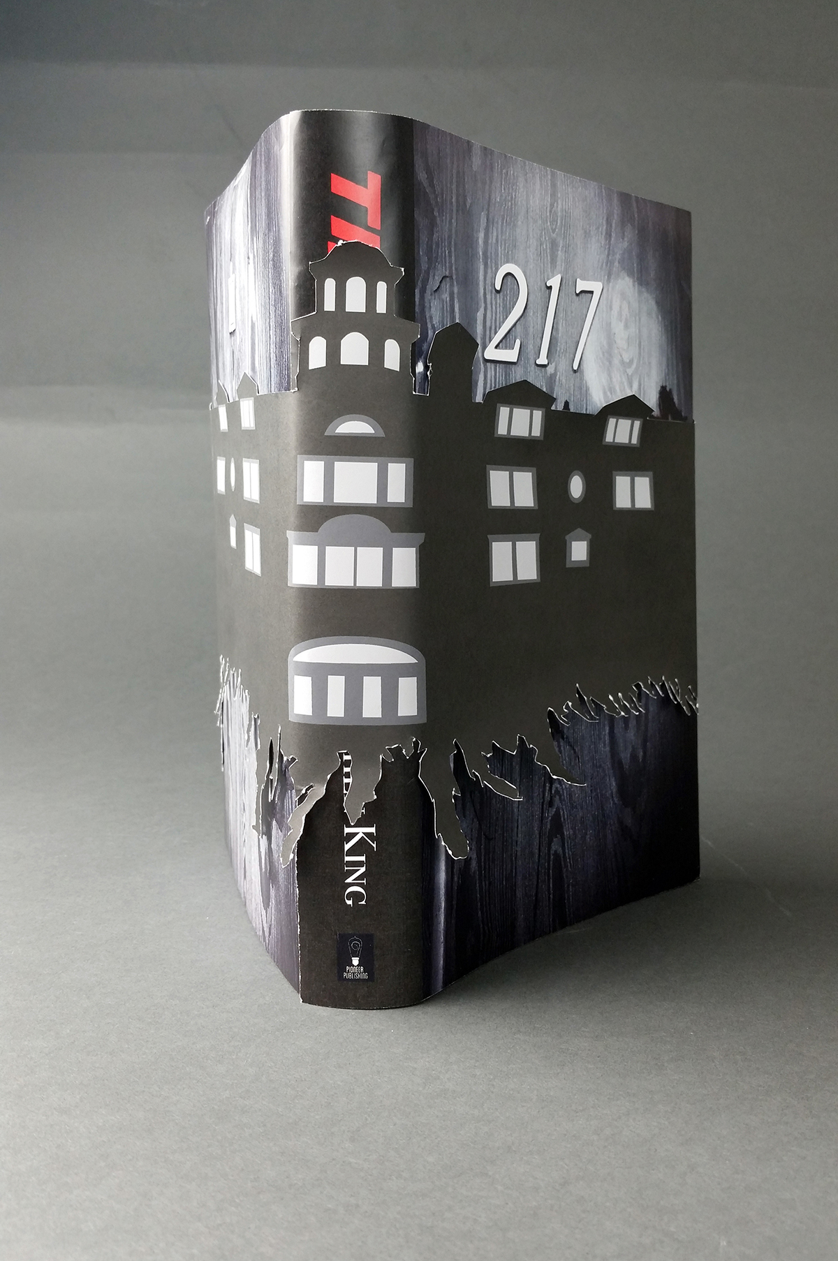 Book Cover Black Jacket ~ The shining book jacket on behance