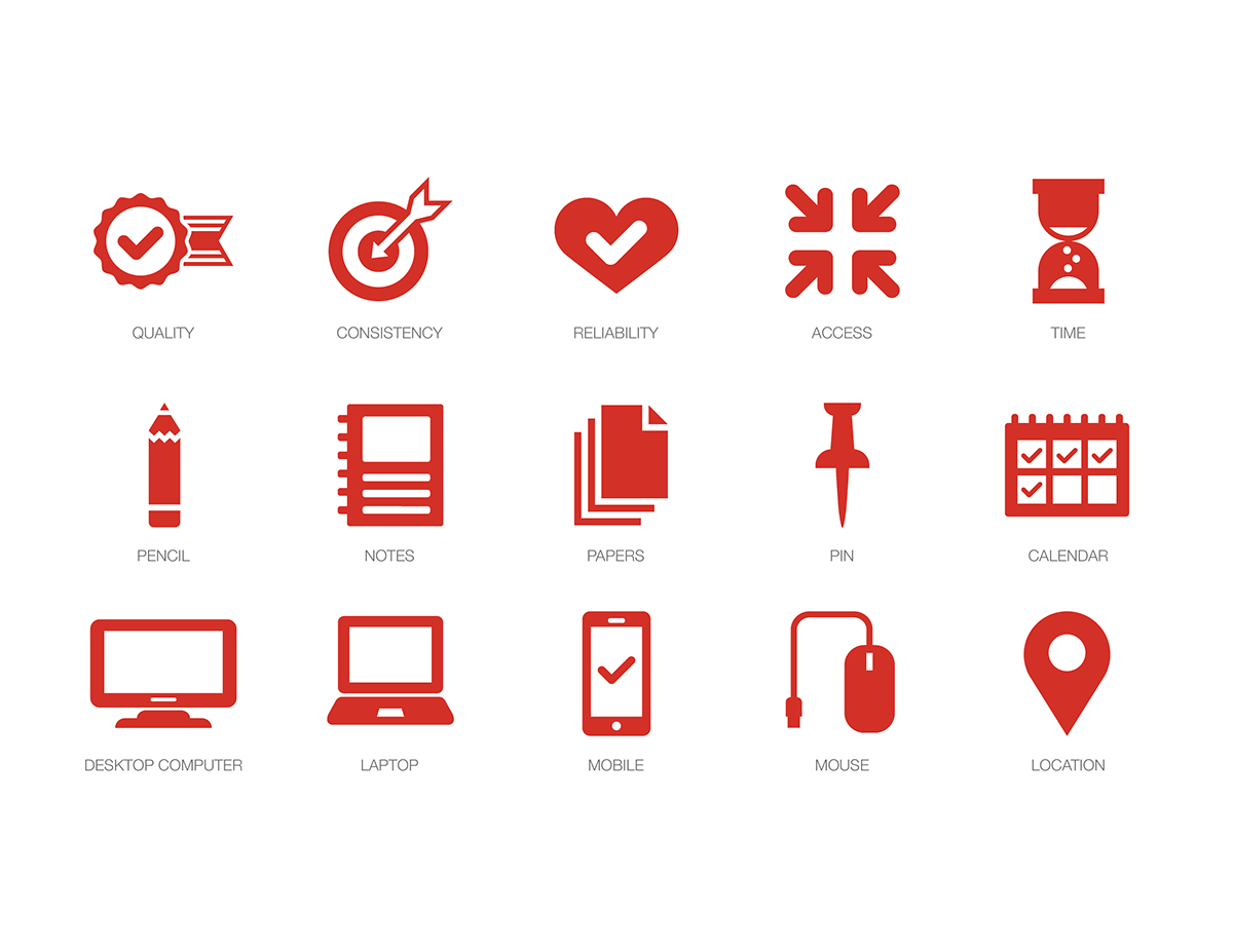 social media icons for cvs on behance