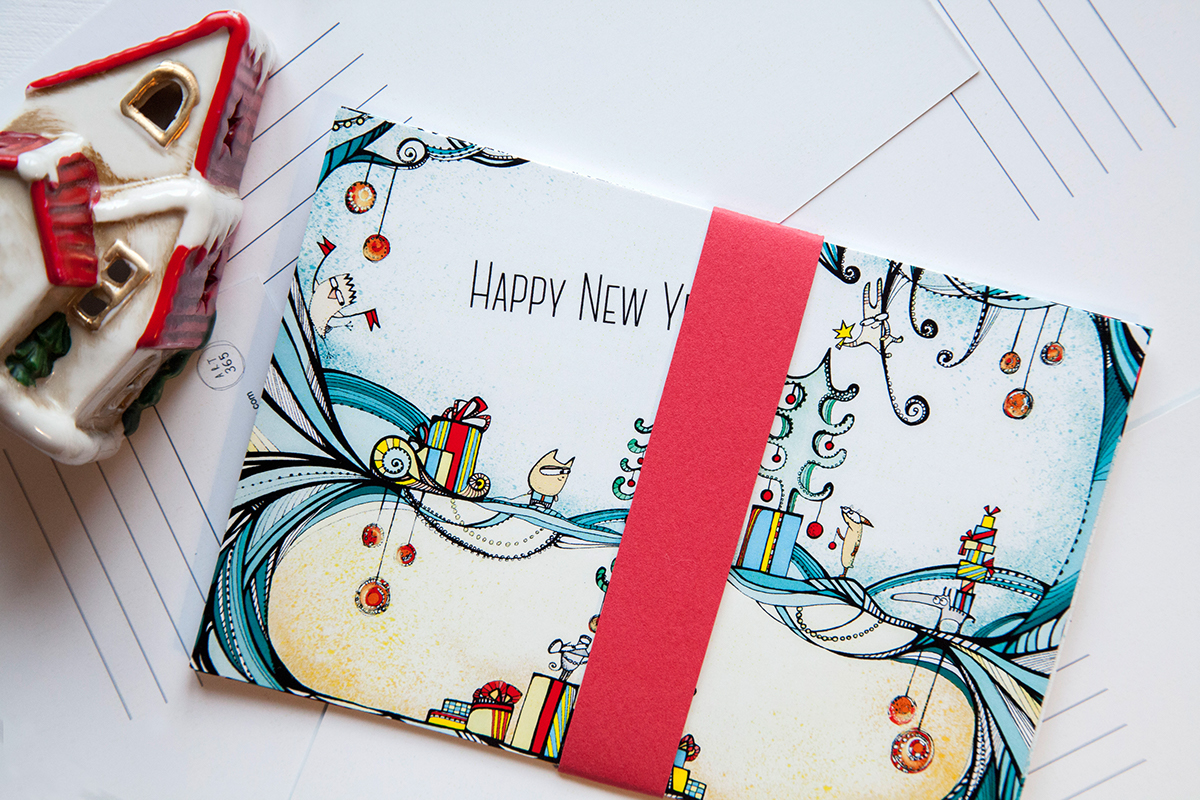 have a magical new year on behance