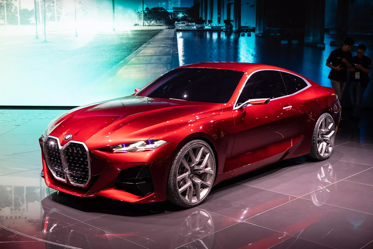 Image may contain: car, red and automotive
