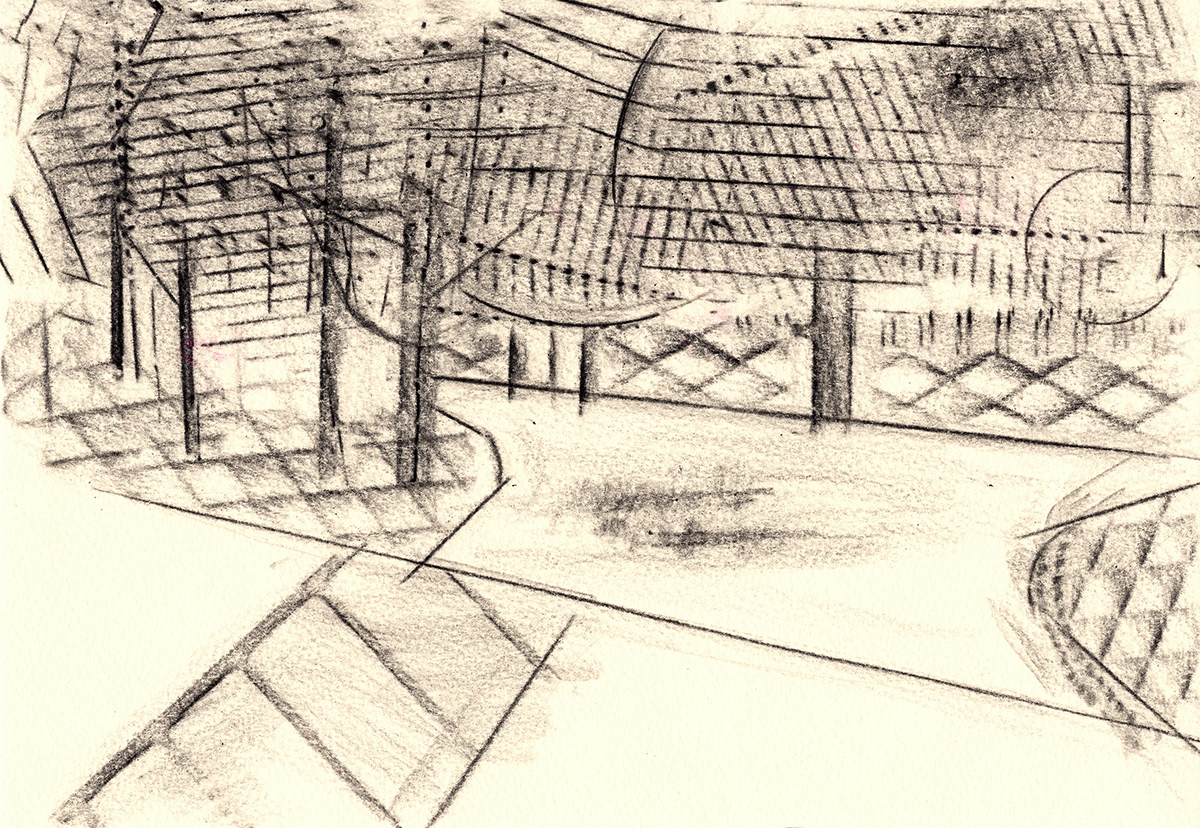 Drawing  Frottage home landscapes Memory nostlagia printmaking Rubbings