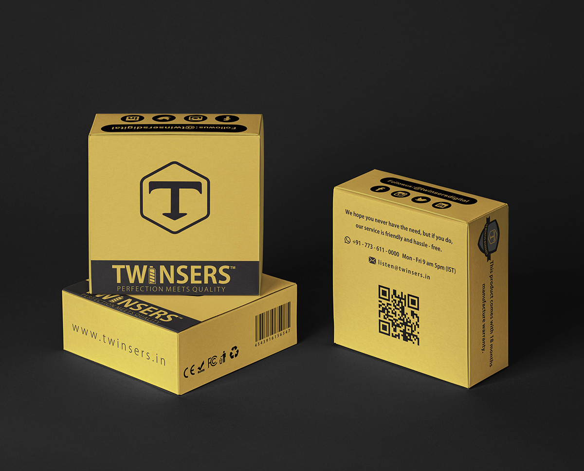 brand logo design product skilllink twinsers print design  concepts packages