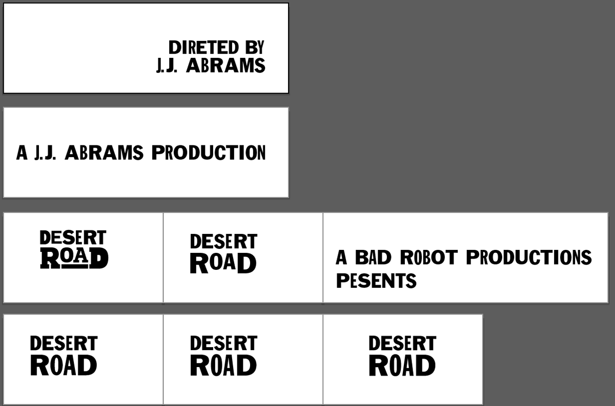 film title sequence,Type System