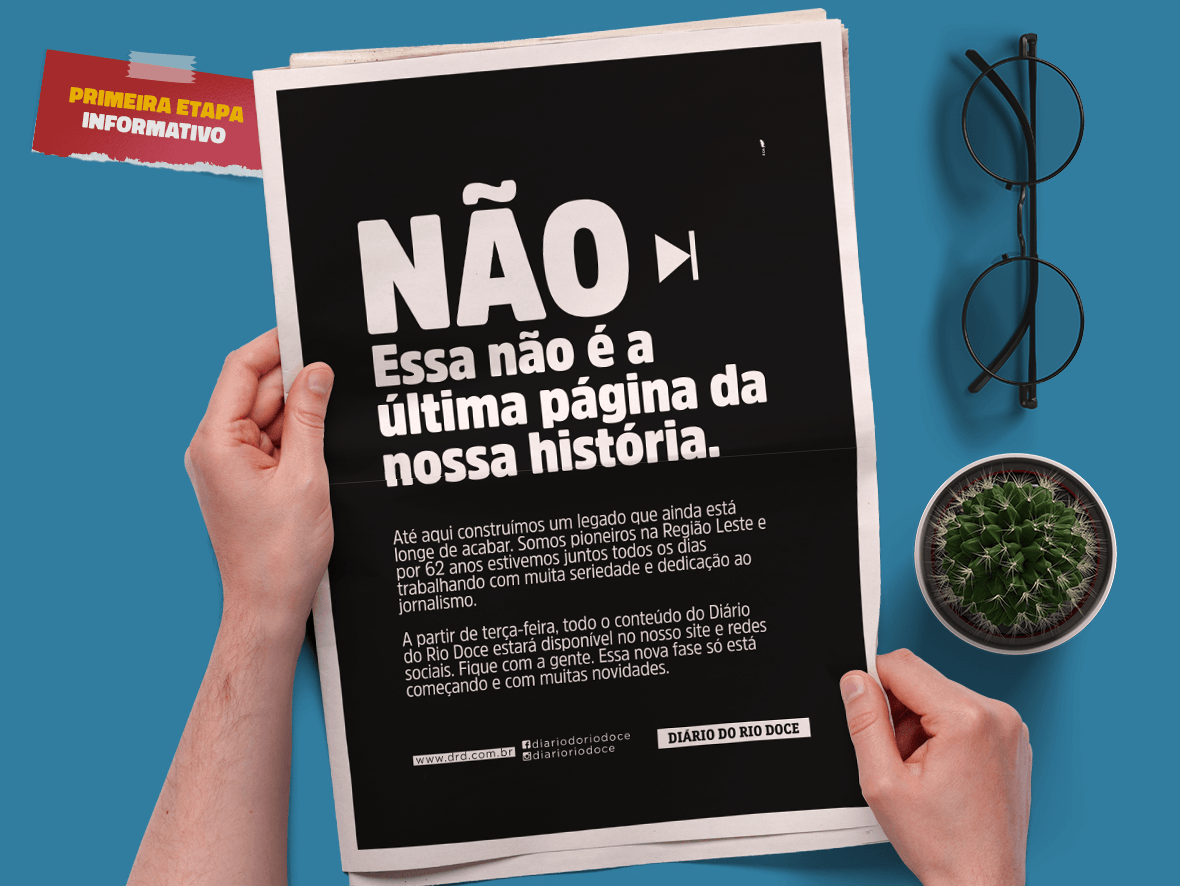 Anúncios campanha publicitária DRD publicidade