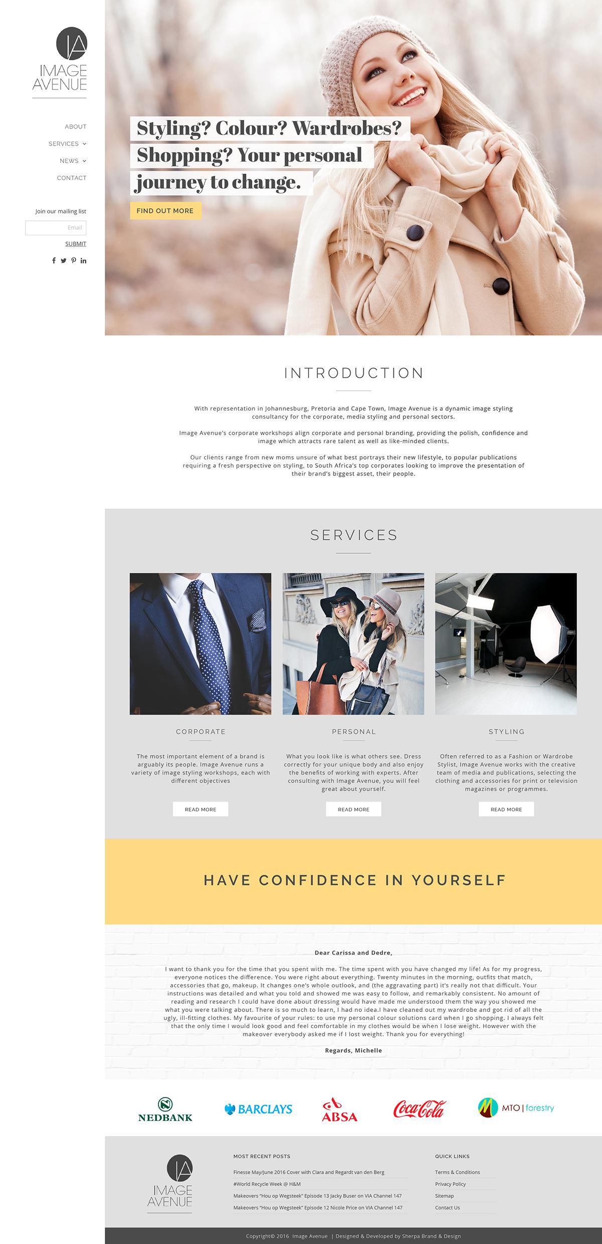 graphic design  Website wordpress branding  Custom