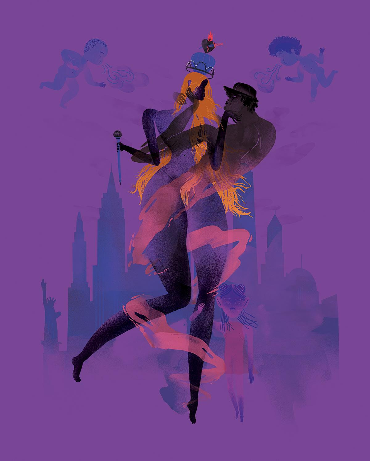 Image may contain: cartoon, screenshot and dance