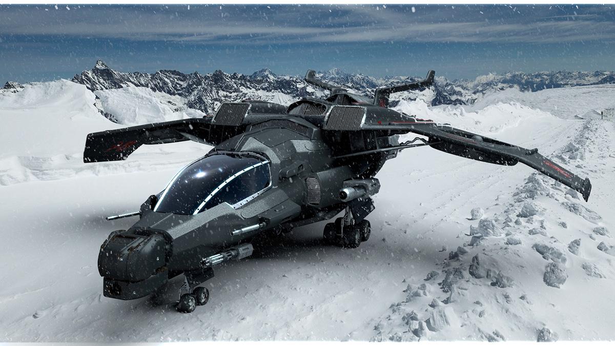 Futuristic Military Aircraft | www.pixshark.com - Images ...