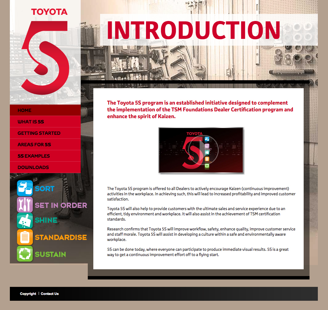 Toyota 5S Campaign On Behance