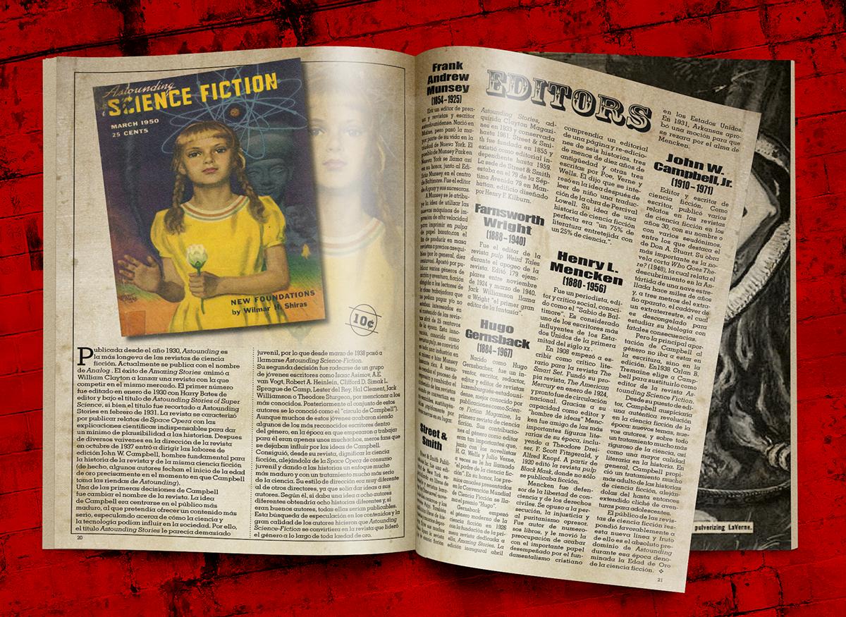 ejemplo página revista pulp