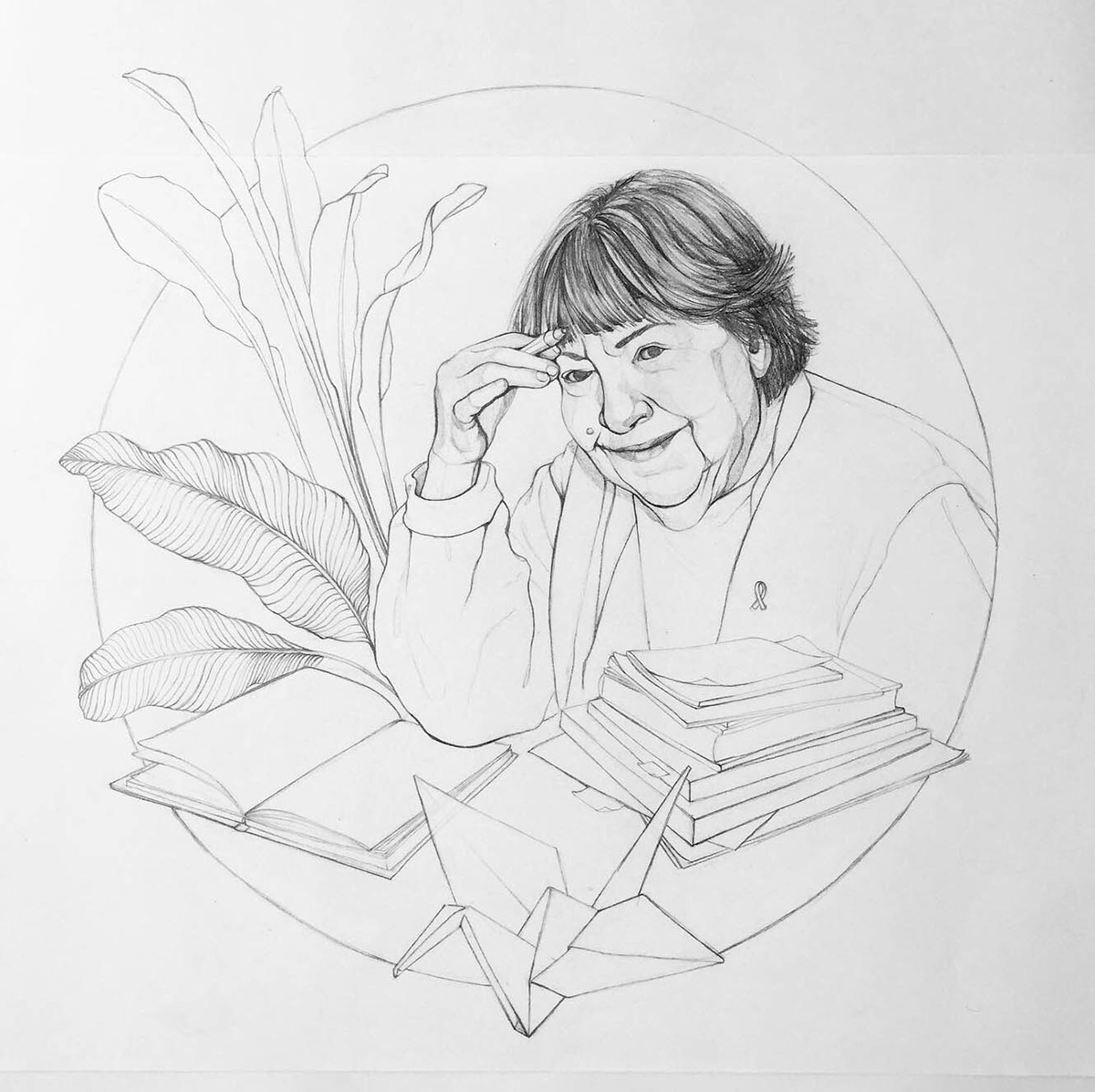 digital Drawing  Editorial Illustration ilustración editorial portrait retrato retrato ilustrado