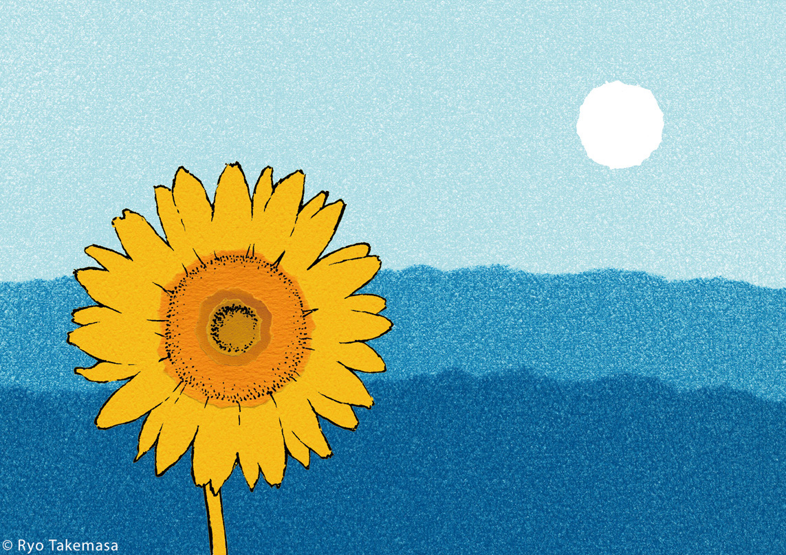 flower Landscape Nature Picture book story sunflower