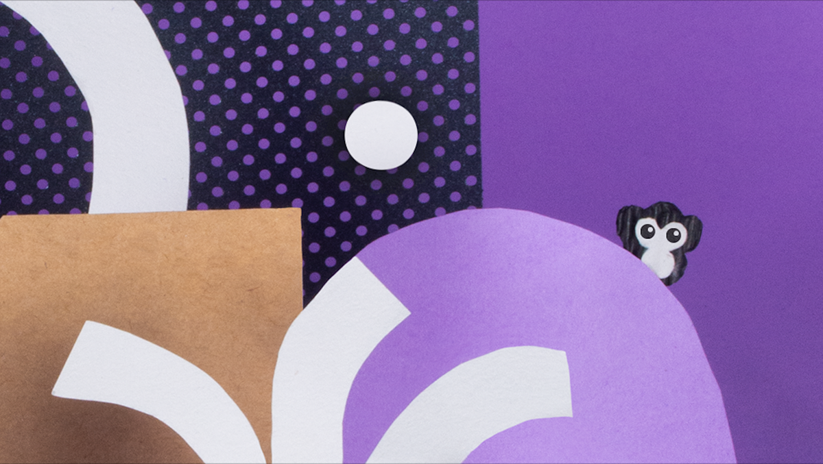 abstract book cover curvilinear vibrant Playful clean collage paper ILLUSTRATION  adobeawards