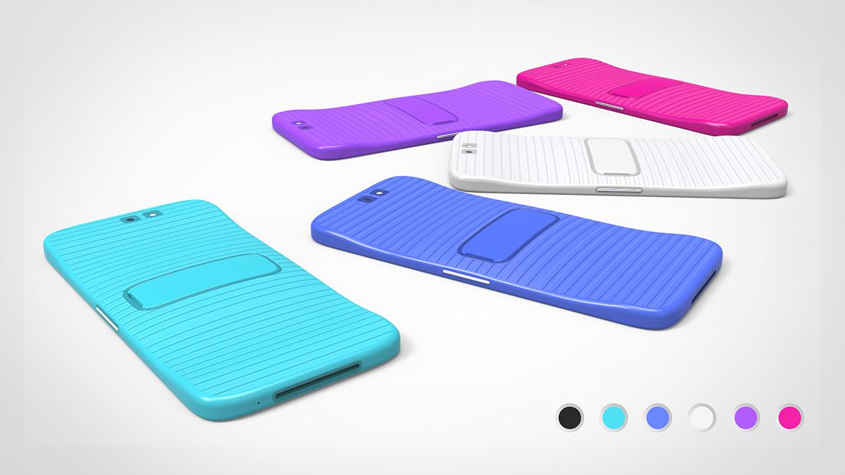 jeabyun Limbo transformable flexible Display watch concept smartphone product yeon