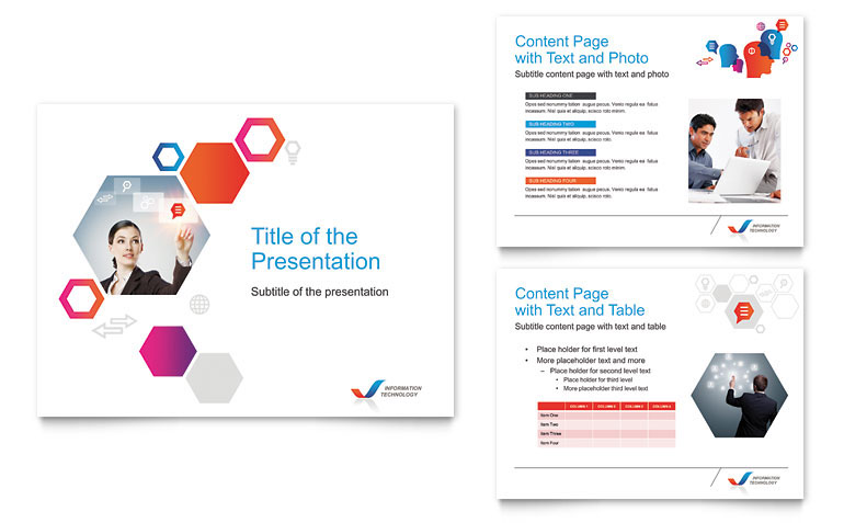 Template Design For Powerpoint