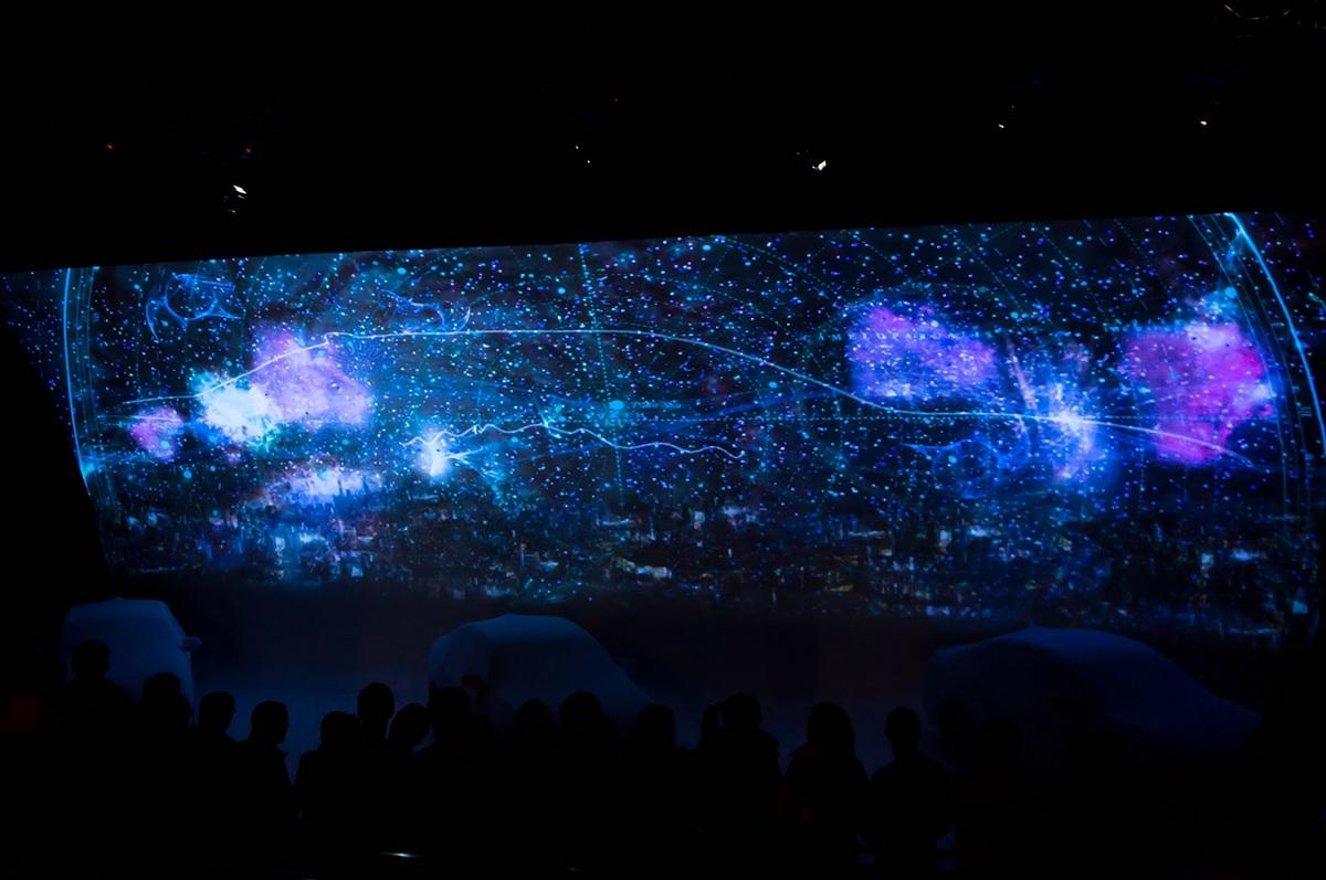 generative art projection