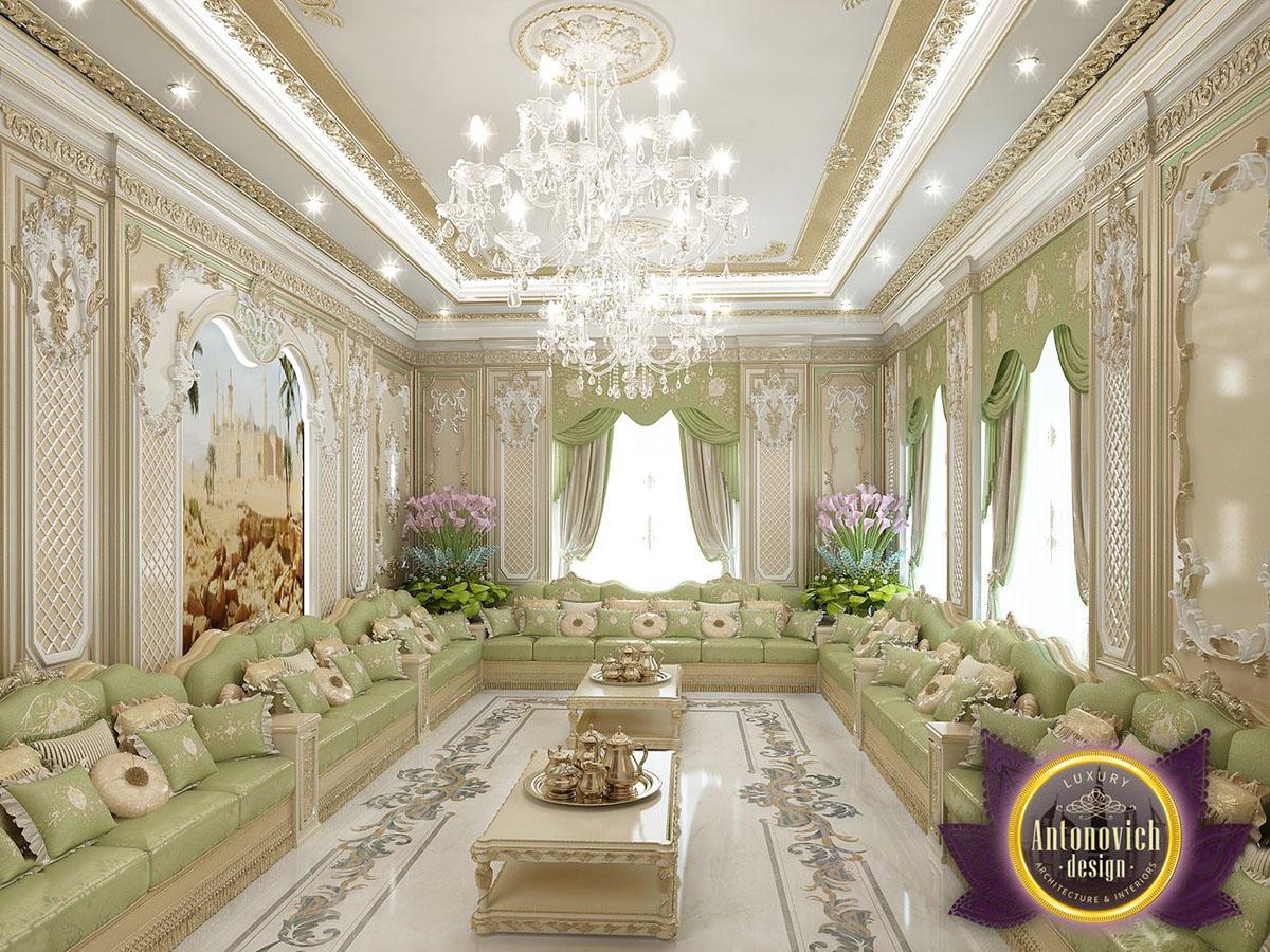 Interior living room design by katrina antonovich on behance for Living room designs in dubai
