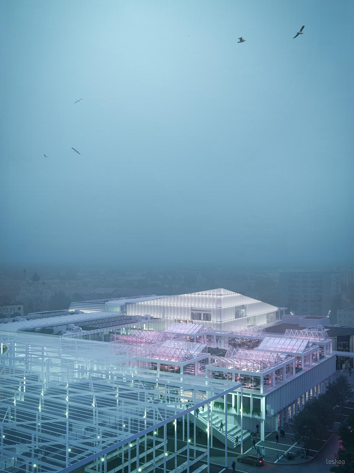 architecture leskea visualisation
