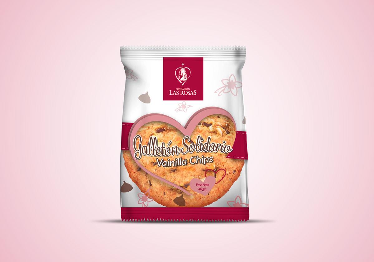 packaging cookie cookie envases fundacion