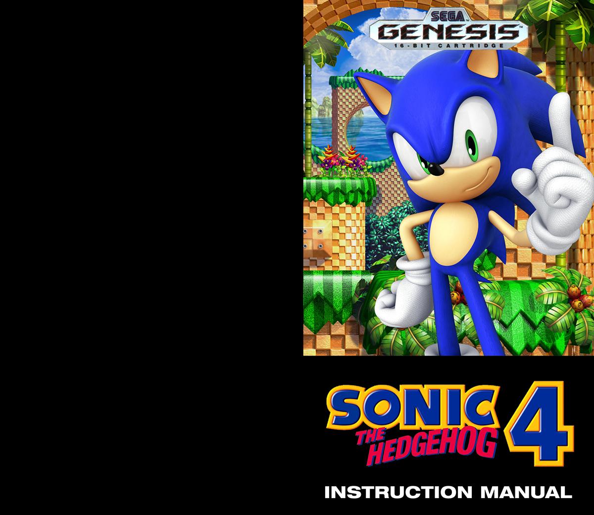 SEGA genesis 16-bit Sonic the Hedgehog Video Games