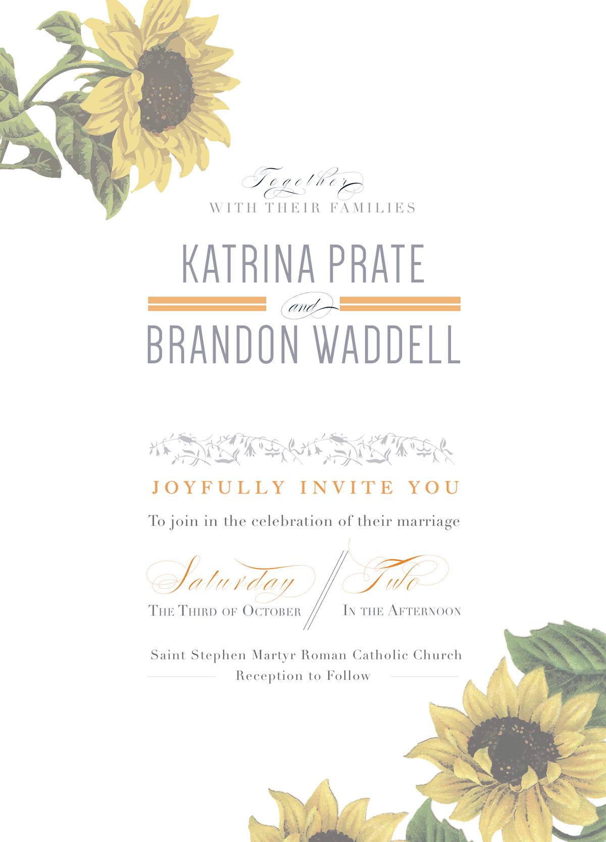 Wedding Invitation Suite on Behance