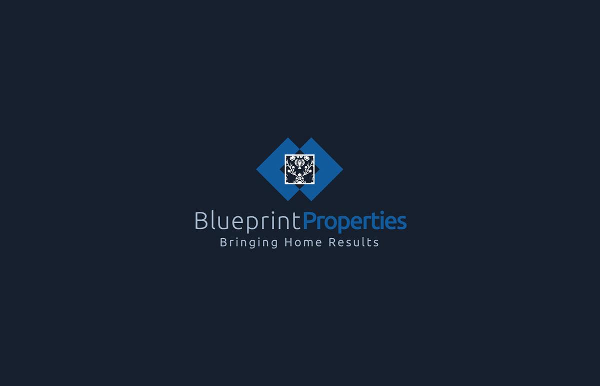 Blueprint properties on pantone canvas gallery blueprint properties branding graphic design web design malvernweather Image collections