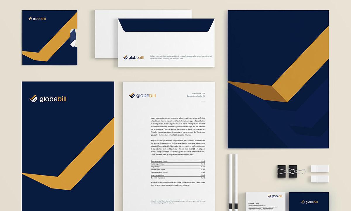 Globebill Pay pay online VI online payment 支付 品牌 画册 宣传册 官网 账单管理